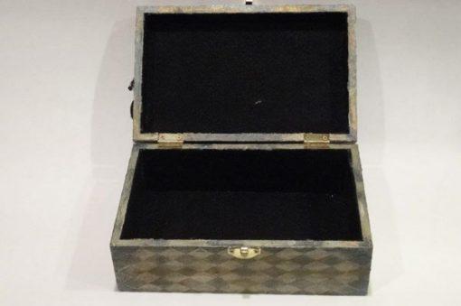 Mixed Media Jewelry Box Opened