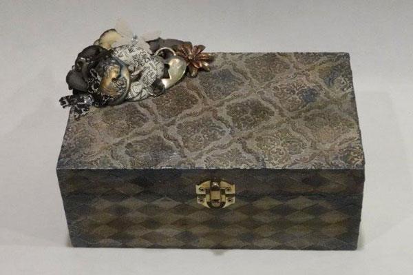 Mixed Media Jewelry Box