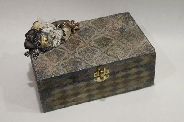 Mixed Media Jewelry Box