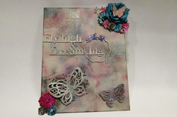 Mixed Media Picture Flying High