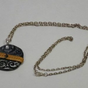 Round Belted Necklace