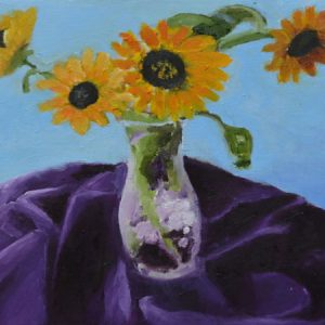 Sunflowers in Vase II