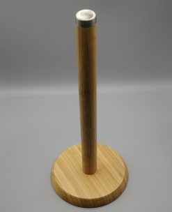 Bamboo Wood Standing Towel Holder