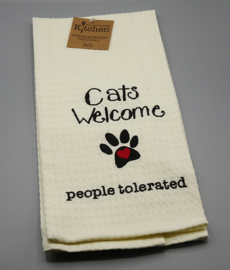 Cats Welcome, people tolerated
