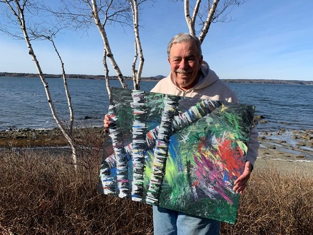 Dorrin Gingerich's Painting is Getting Attention - and His Catalog is Growing